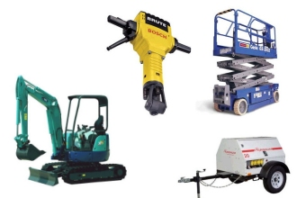 Equipment rentals in Brownsburg