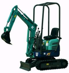 Where to rent EXCAVATOR, MINI 5  DIG DEPTH in Brownsburg IN