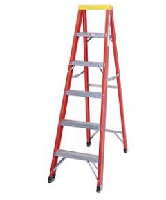 Where to rent LADDER, STEP 10  FIBERGLASS in Brownsburg IN